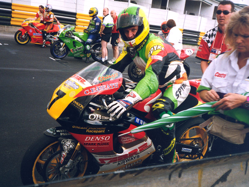 Ray Stringer at Macau