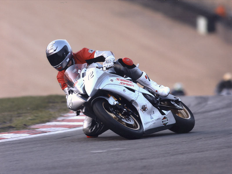 Luke on the Sabre Sport Yamaha 600 Super Stock